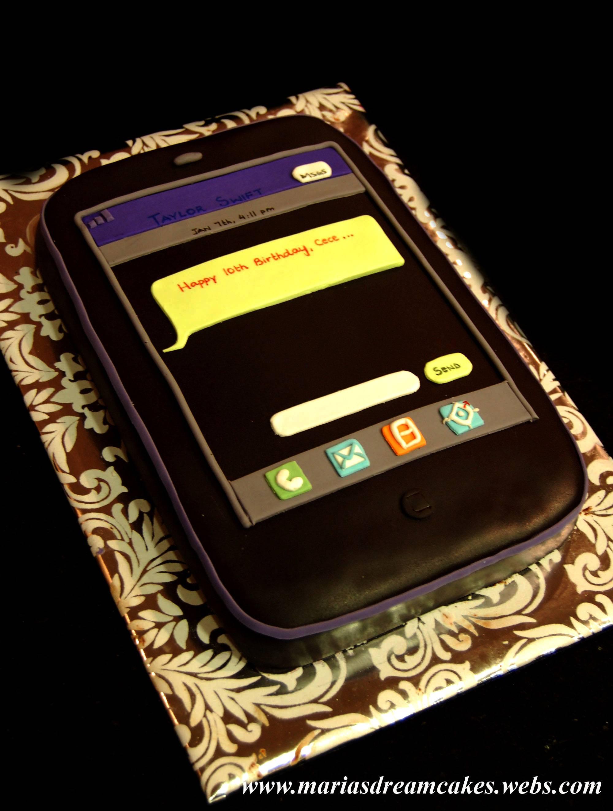 'IPhone' Cake