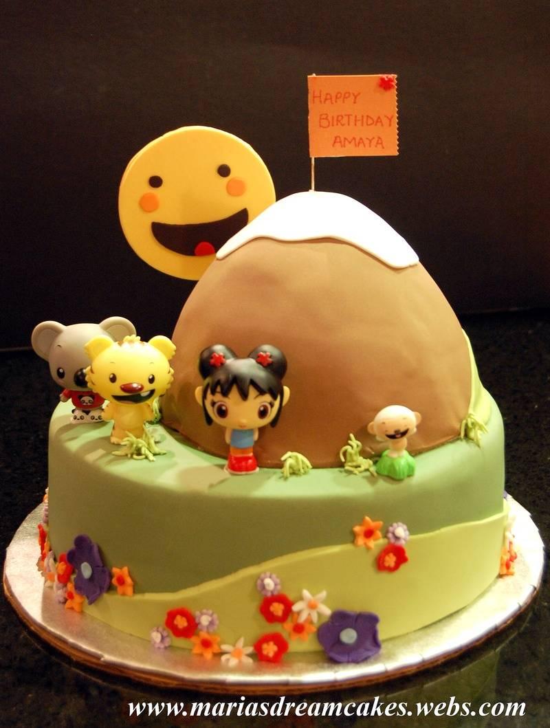 Kailan Theme Birthday Cake
