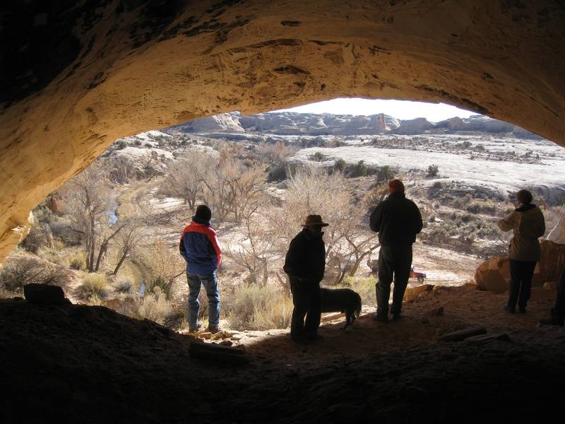 Cave in 10 Mile Canyon
