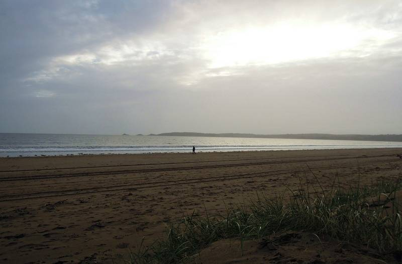 Swansea beach - on the way back to the train station