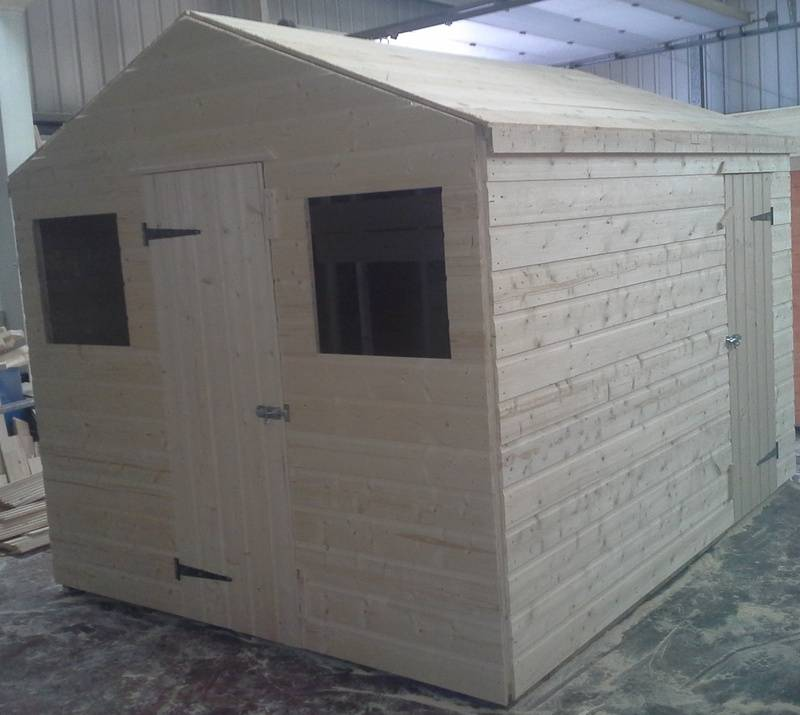 Apex Shed | Workshop (10' x 8')