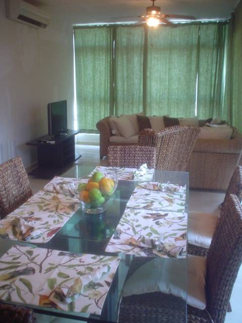 LIVING AND DINNING AREA VIEW