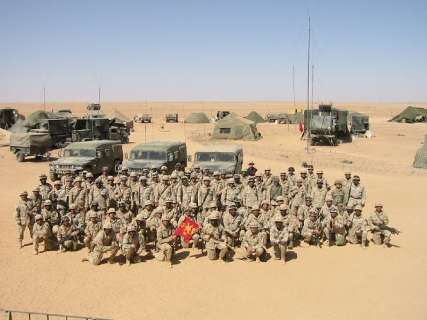 MD ALAM IN IRAQ WITH DELTA BATTERY