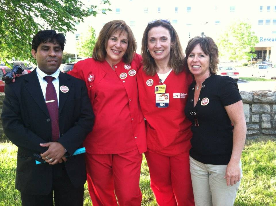 NURSES ASSOCIATION LEADERS
