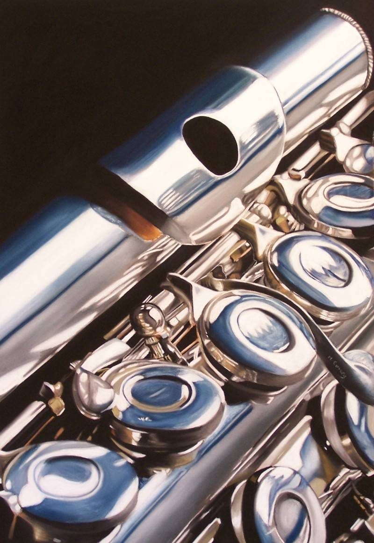 A Three Piece Flute