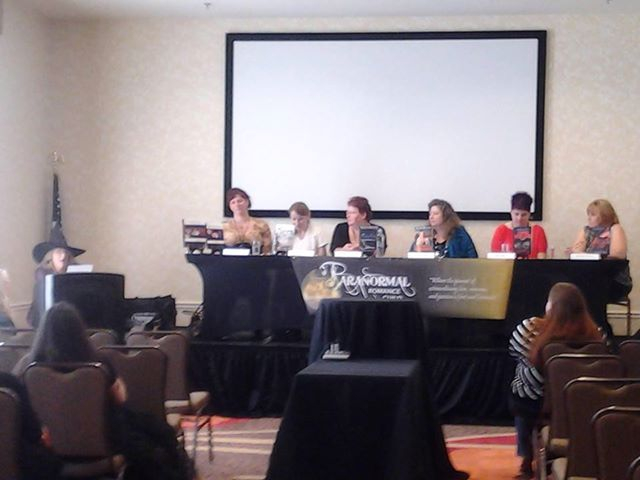 Author panel of The Paranormal Romance Guild