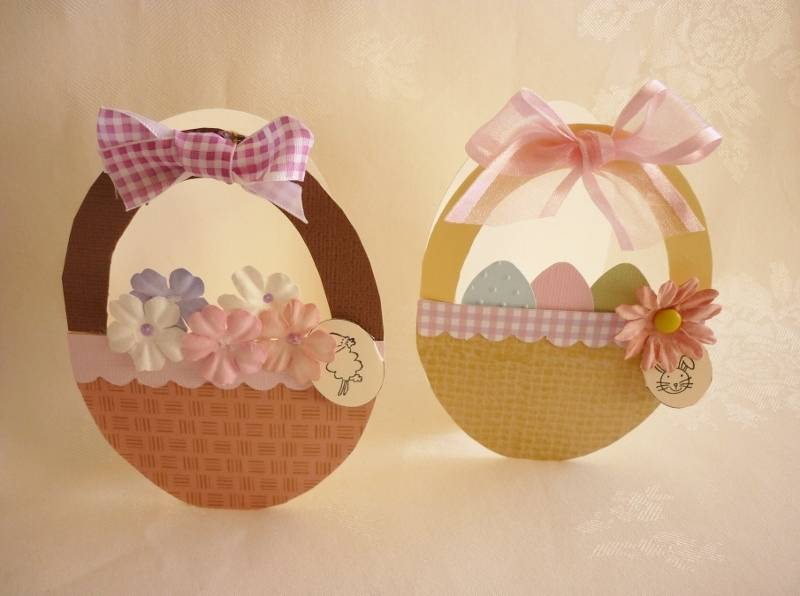 Easter Basket Cards