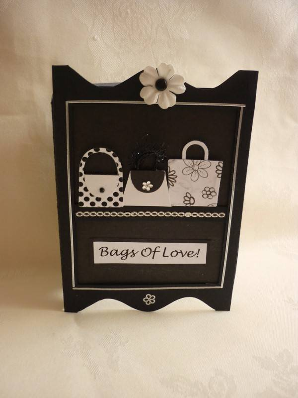 Bags of Love in Black and White