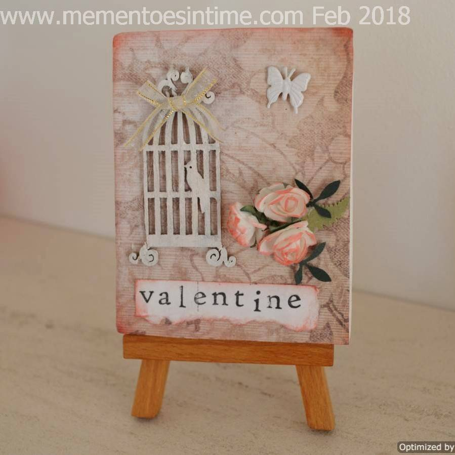My Valentine Mini Canvas