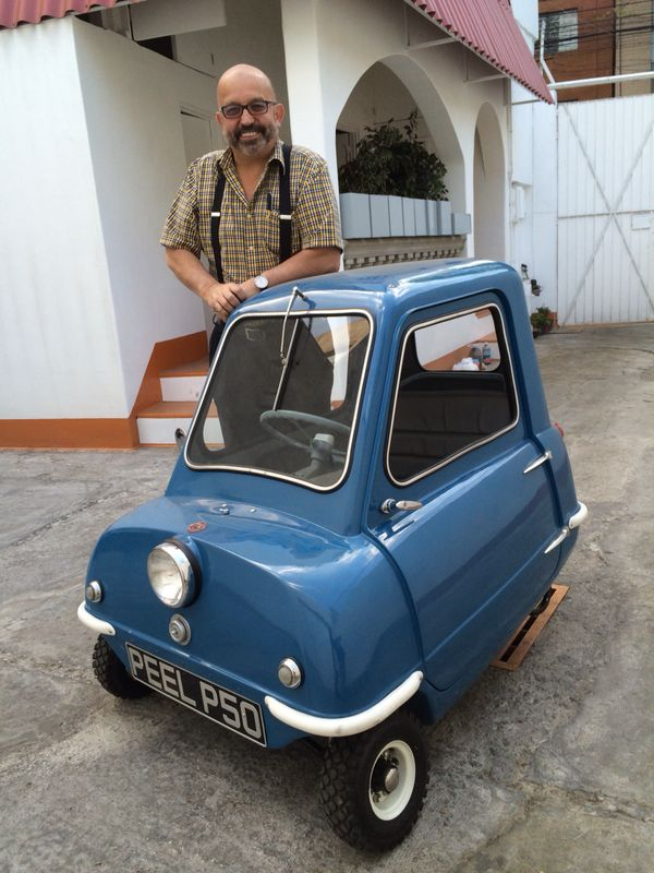 Peel P50 (Isle of Man)