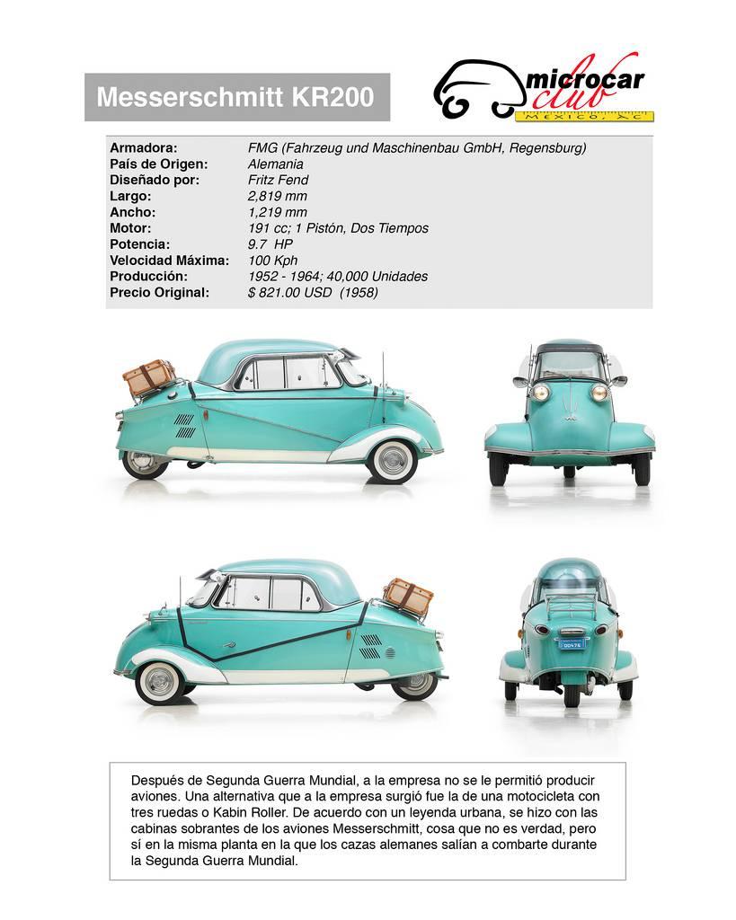 Messerschmitt KR200 (Alemania)