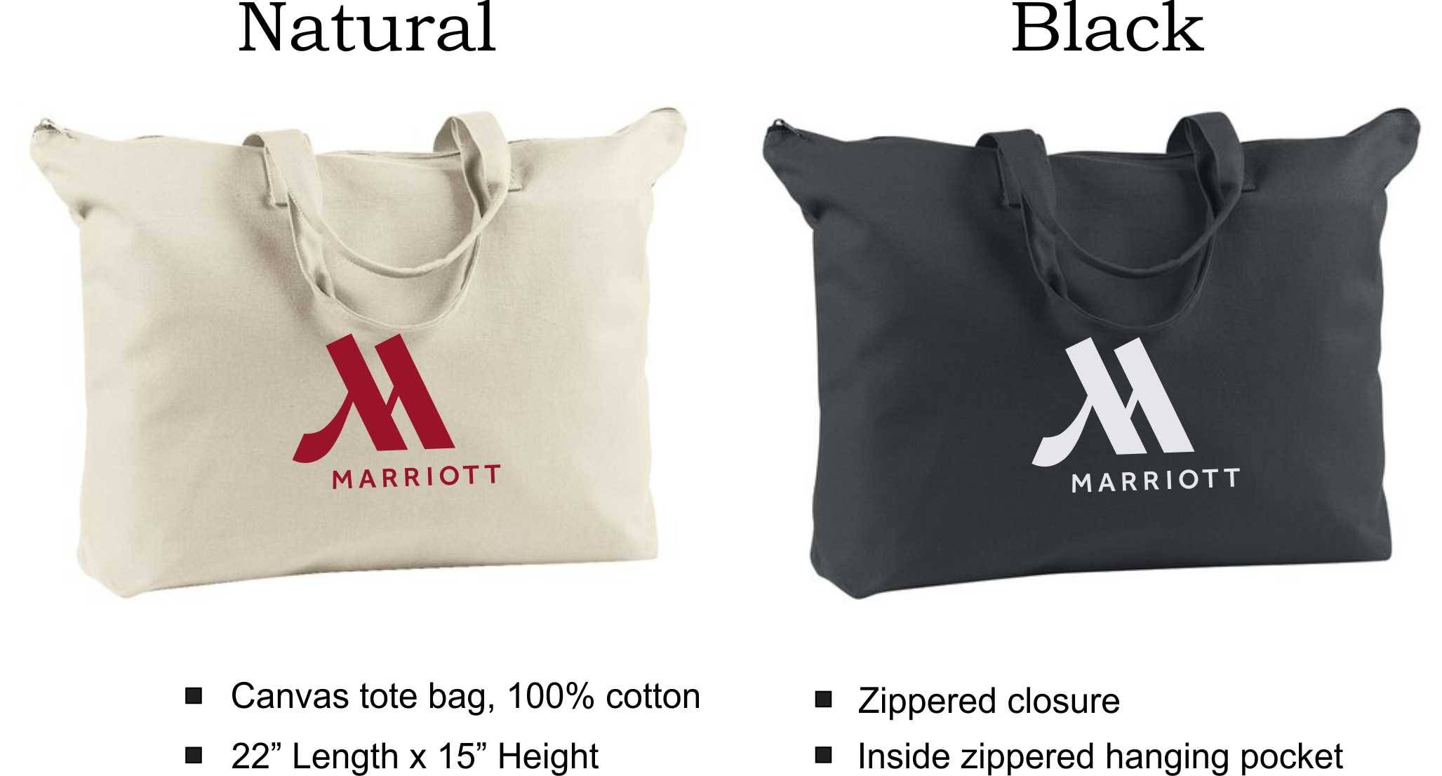 """Tote Bags, Canvas 