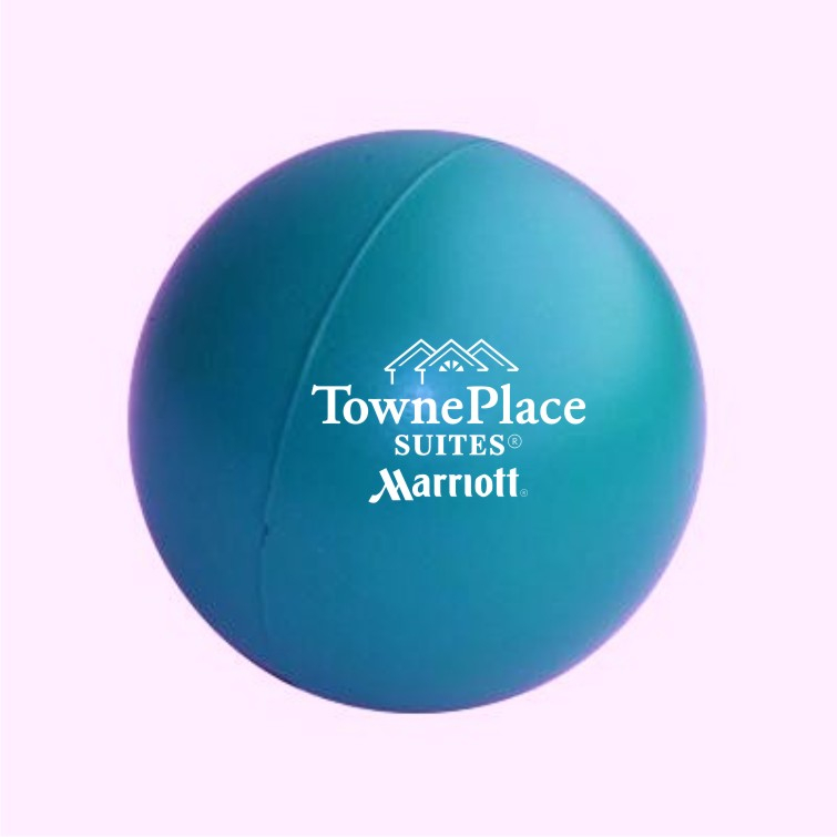 "Stress Balls, Teal.  3"" Diameter - Squeeze away stress!"