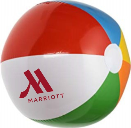 "Beach Balls - Fun for all ages - Large 16"" Diameter"