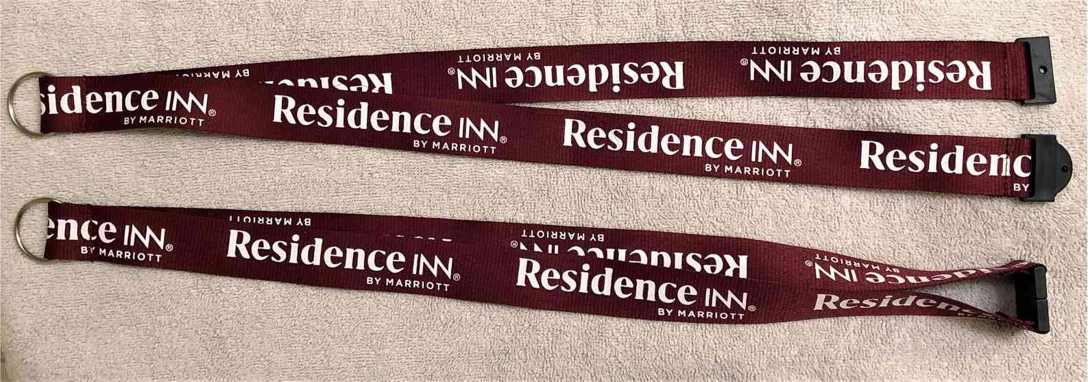 "Lanyards - Break-Apart with Keyring - 1"" Wide -  Great for Housekeeping and Staff - Makes a unique gift!"