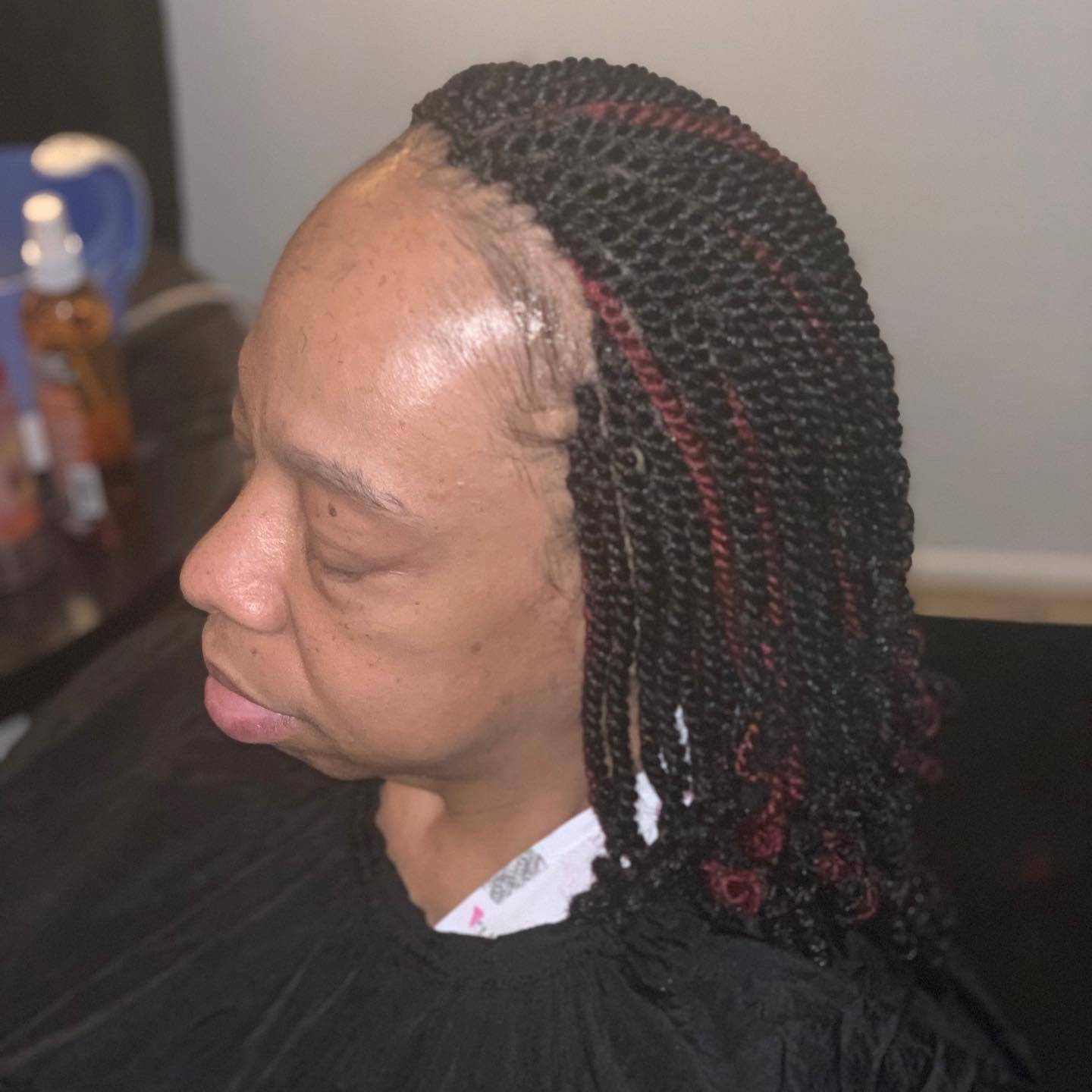 Kinky Twist completed in Baltimore, MD