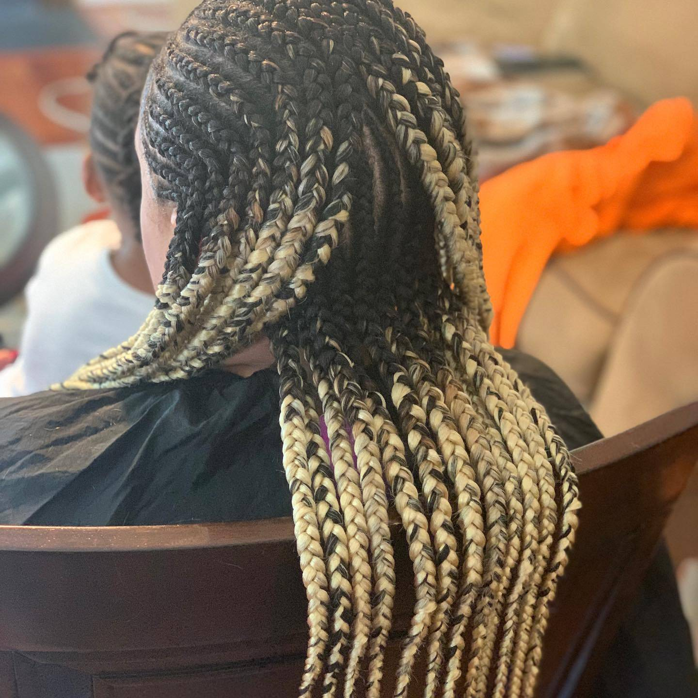 Feed-in Cornrows completed in Columbia,MD