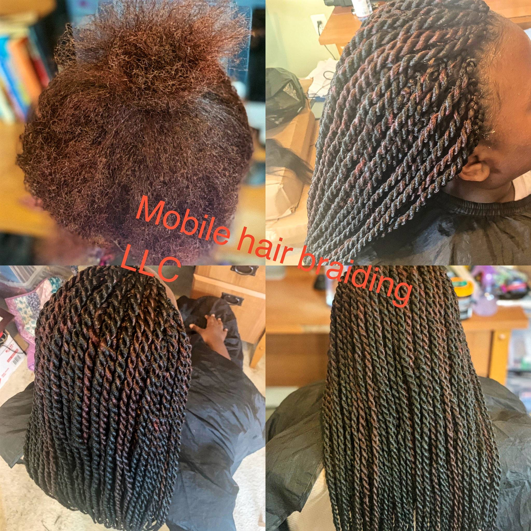 Senegalese Twist completed in Fort Washington, MD