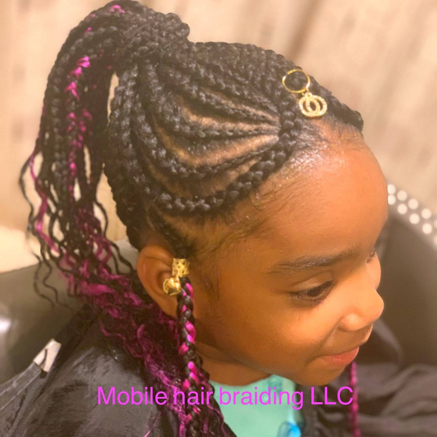 Kids Cornrows completed in Waldorf, MD