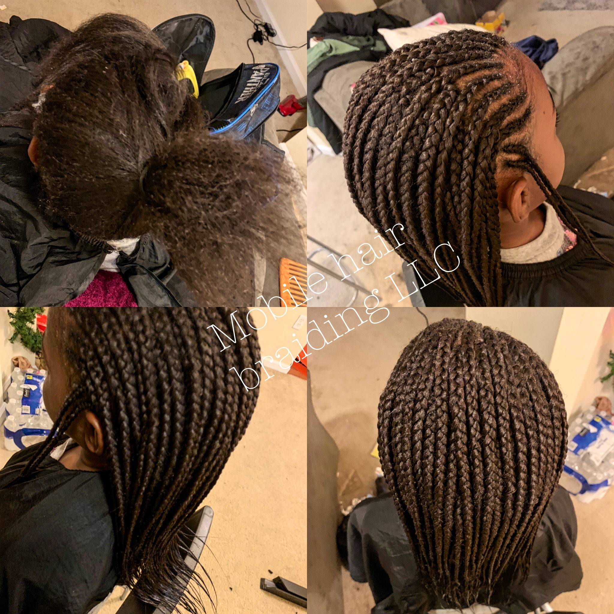 Kids Cornrows completed in College park, MD