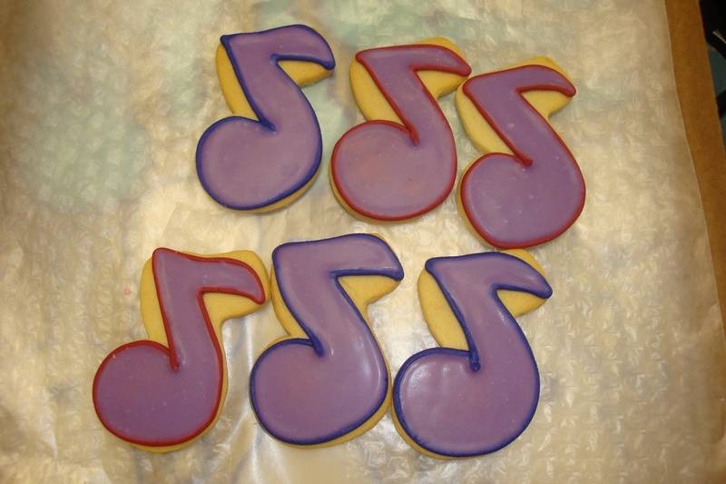 music notes $2 ea