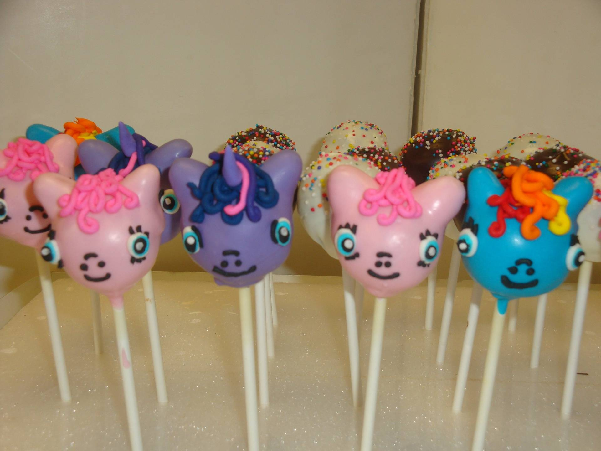 $4.50 each pony cake pops