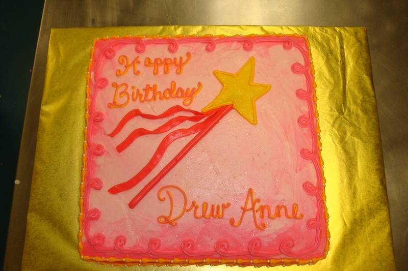 15 serving pinkalicious cake $55