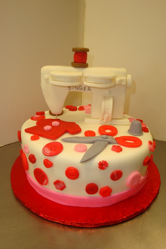 Fondant sewing machine $7/serving