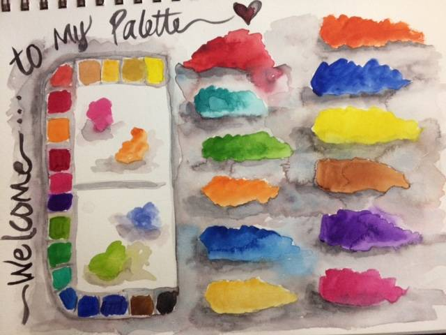 Welcome to my palette