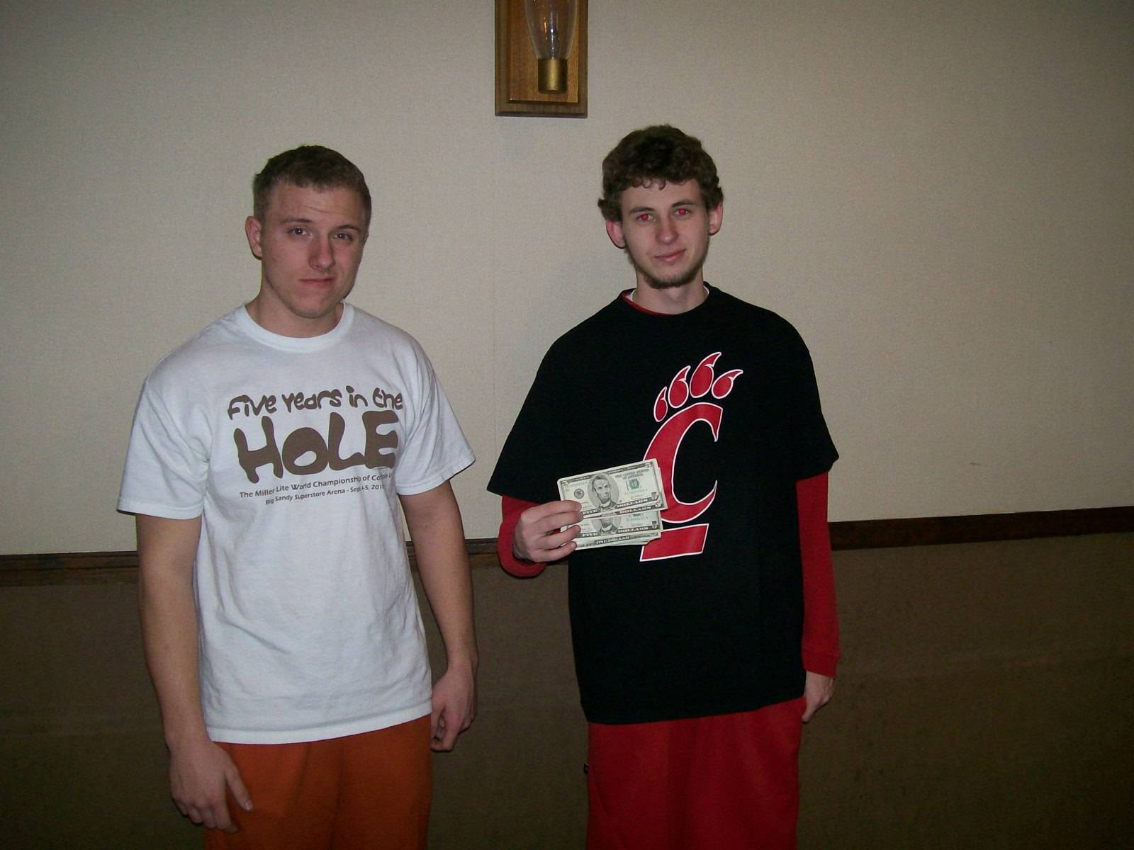 3rd place doubles - Cody and Kevin Henderson (Jan 15, 2011)