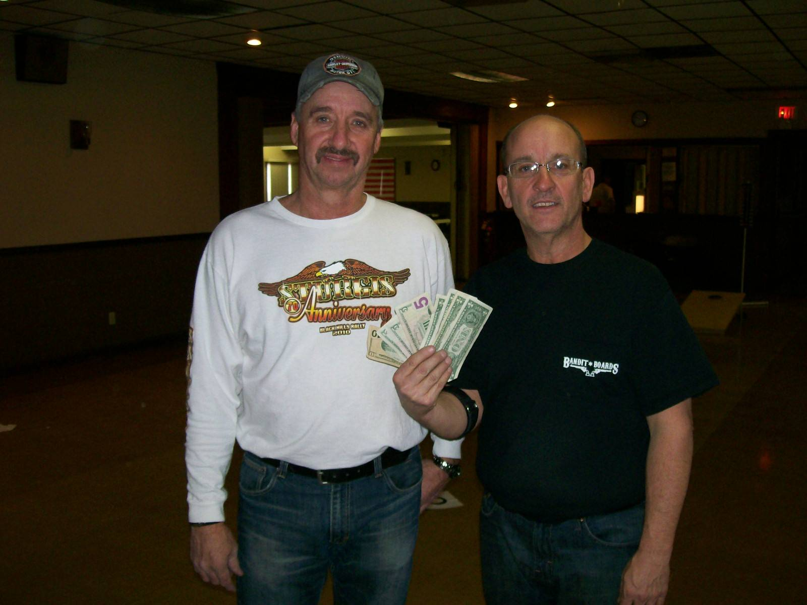 2nd place doubles - Steve Stewart and Dale Shobe (Jan. 15, 2011)