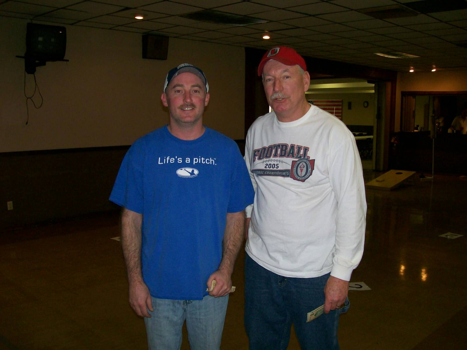 1st place doubles - Mark Allen and Tom Bobo (Jan. 15, 2011)