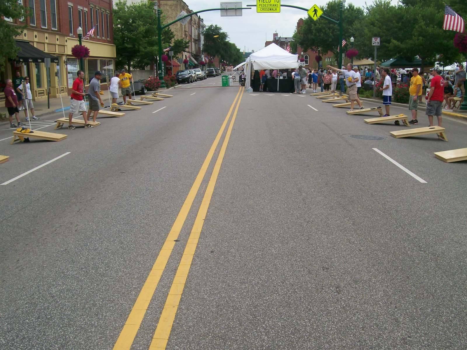 2011 Marietta, OH Sweet Corn Festival