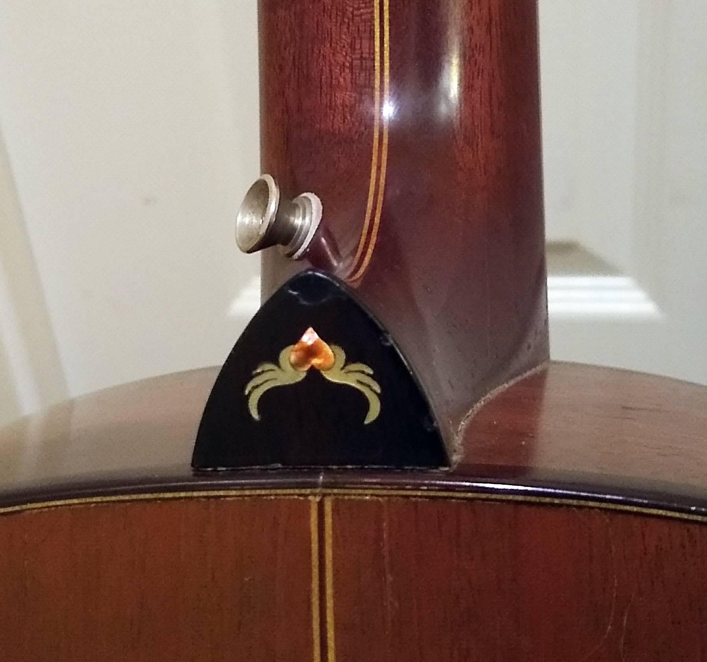 Novotny custom concert heel cap