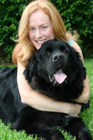 Lenny and his owner Jen.