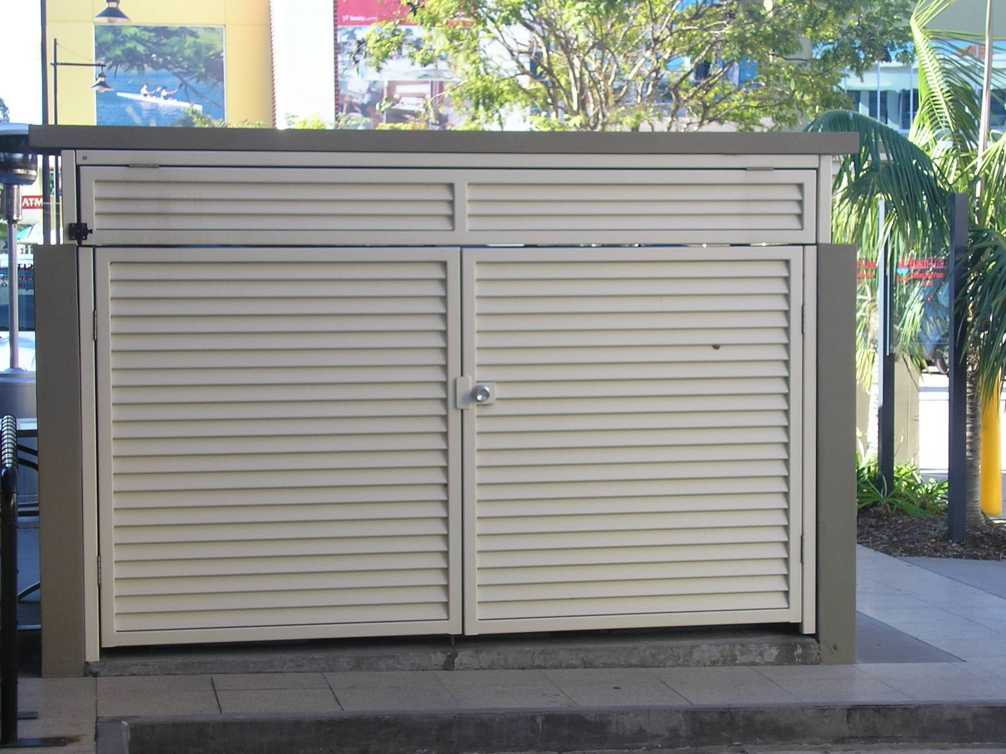 GARBAGE BIN ENCLOSURES