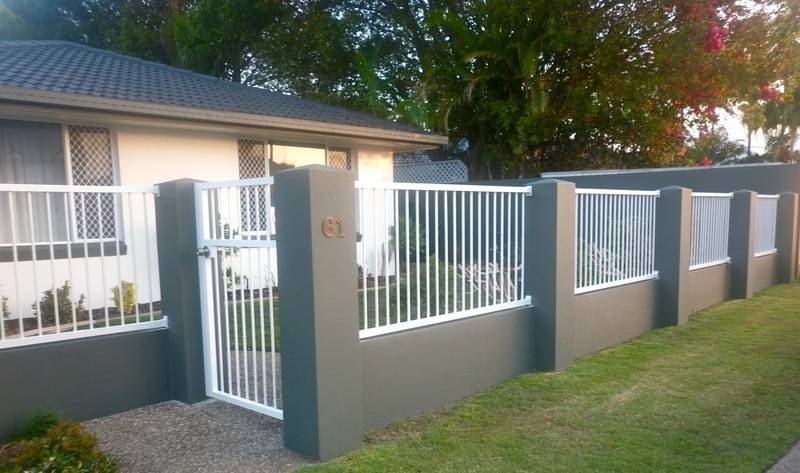 Vertical Bar Fence