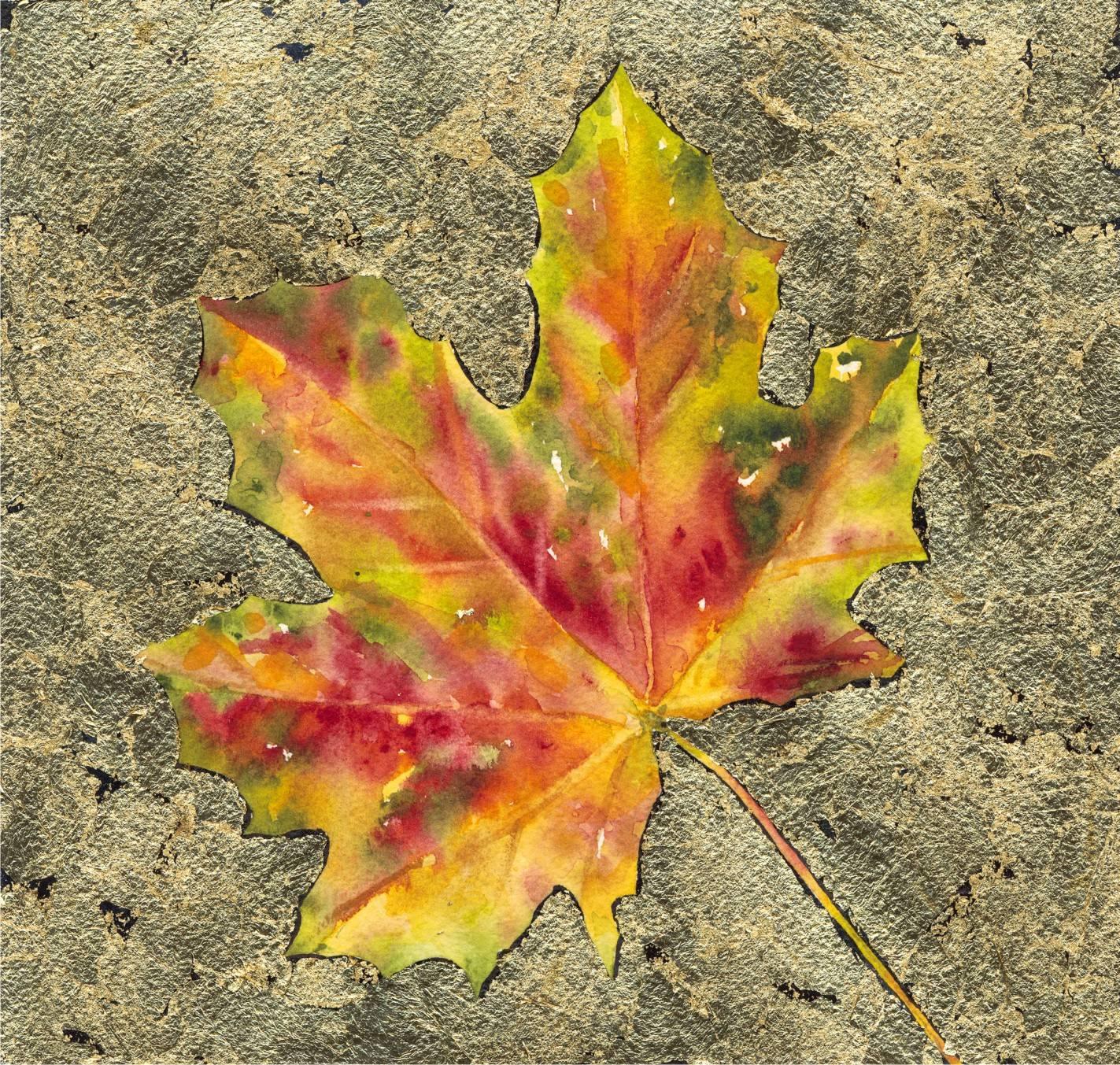Leaf on Gold Leaf