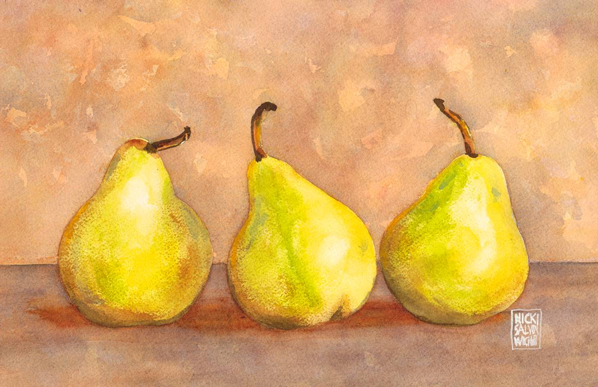 Three Little Pears
