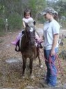 Ashley & Angel Giving A Pony Ride