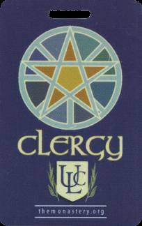 Pagan Clergy Badge