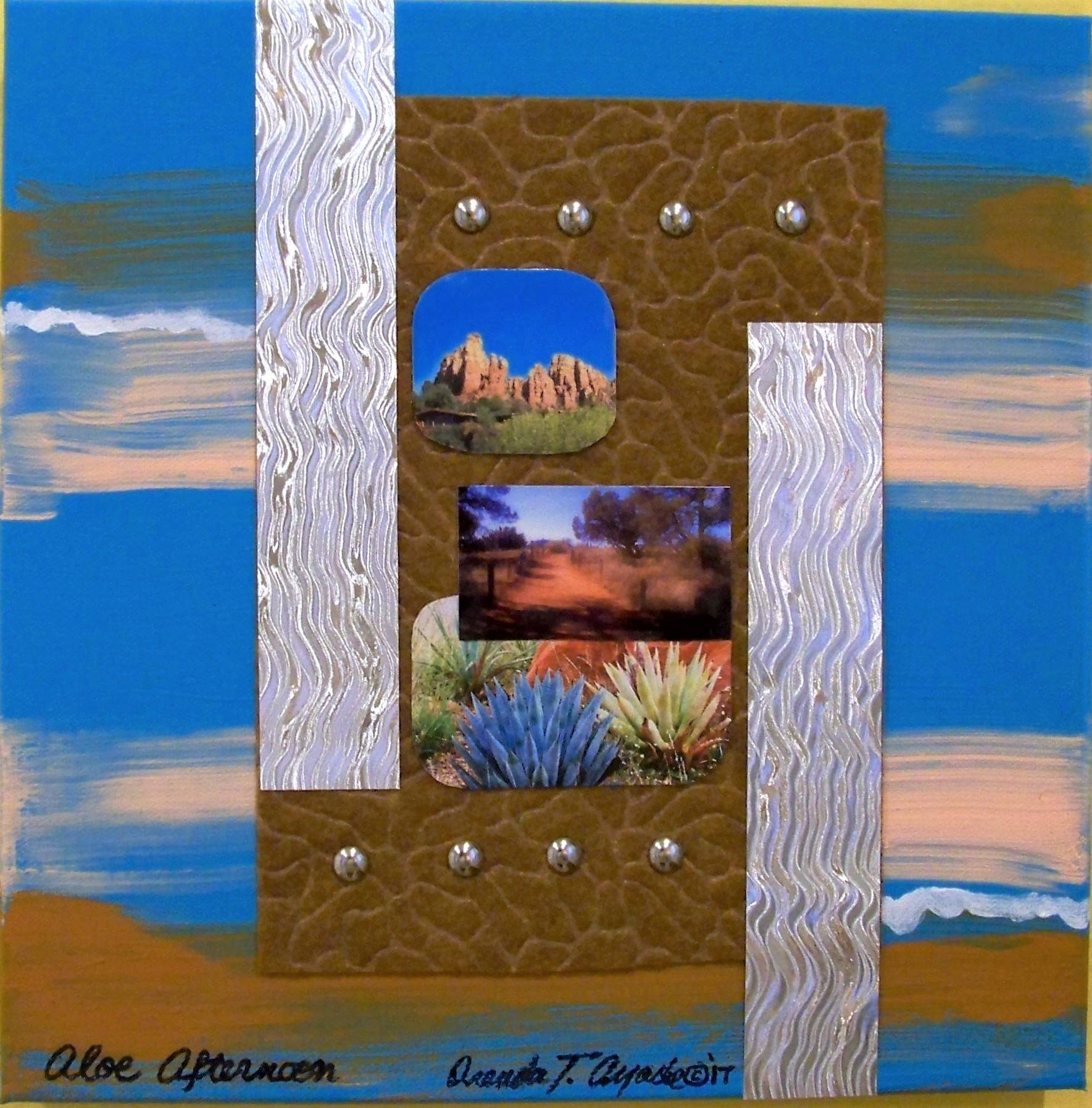 AZ.Deco Series / Aloe Afternoon