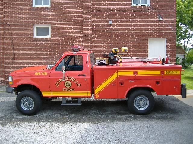 Old Brush Truck 9124/1209