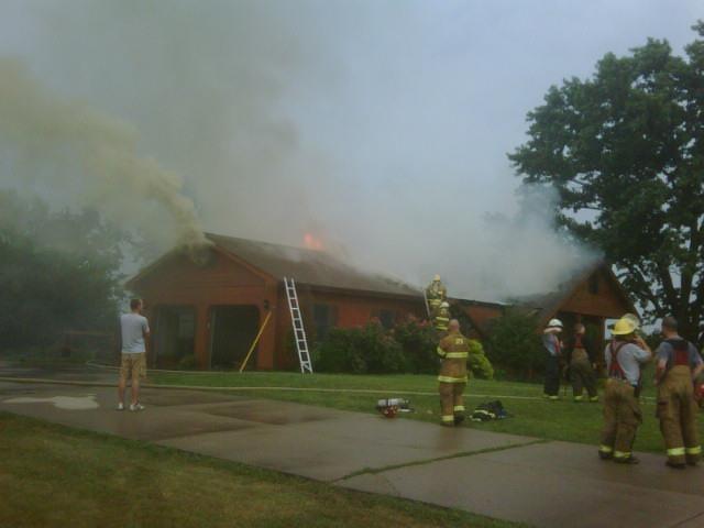 East Adair Street house fire
