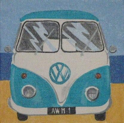 small VW van