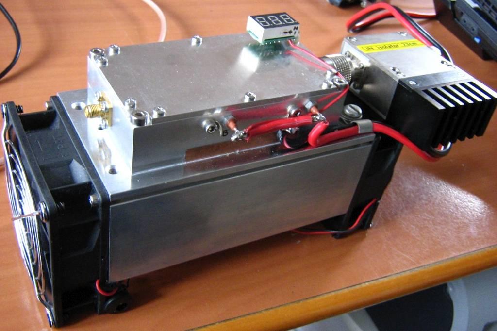 140 Watt op 23cm met MRFE6S9160