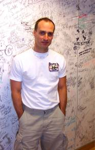 Me, at Sirius Satellite Radio Autograph Wall.