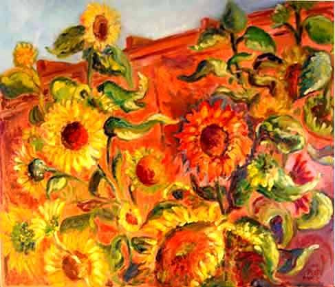 Garage Sunflower