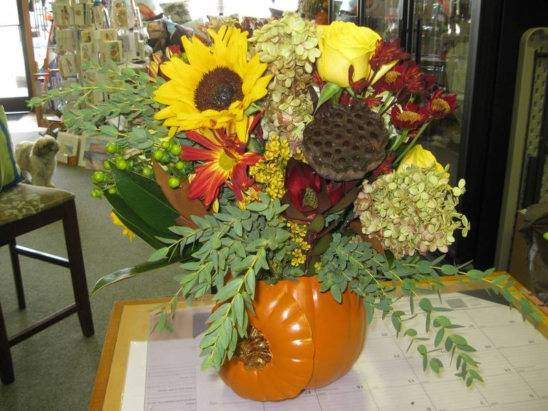October arrangement