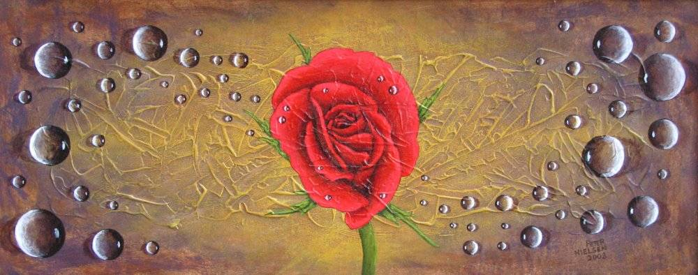 Wet Rose, SOLD